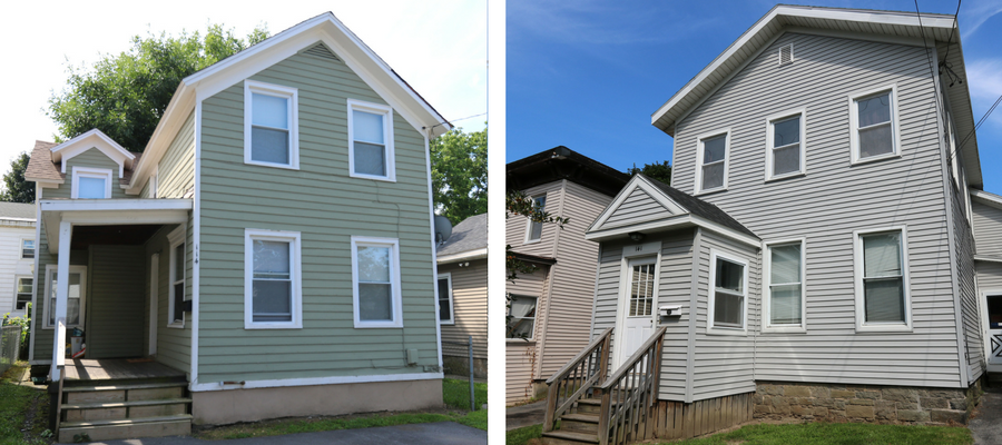 Photo of SUNY Oswego - Off Campus College Housing for 114 W Mohawk Oswego, NY and 141 W Seneca Street Oswego, NY.